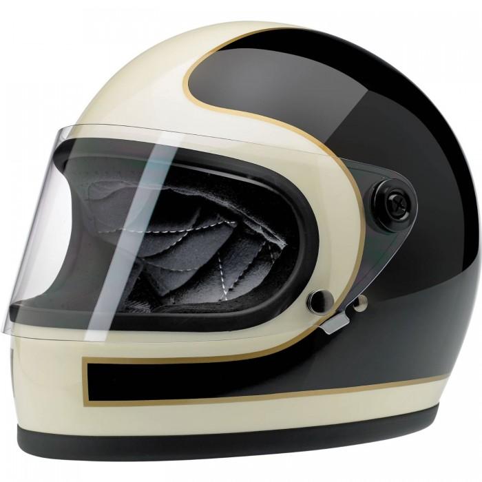 biltwell retro motorcycle helmet