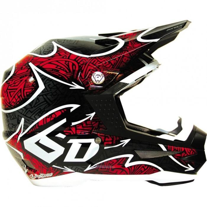 6d maze dirt bike helmet
