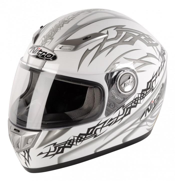 nitro aikido full face helmet